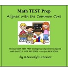 Math Common Core TEST PREP ~ Grade 3