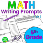 Math Constructed Responses: Set 1