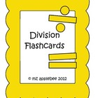Math Division Flashcards