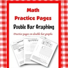 Math ~ Double Bar Graph ~ Blackline Master