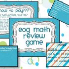 Math EOG review game