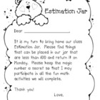 Math Estimation Jar Take Home Fun