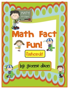 Math Fact Fun Flashcards