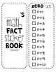 Math Fact Sticker Book