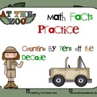 Math Fact Strategy Activities Add and Subtract 10 Off the Decade