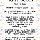 Math Facts Practice Game: Scoot!