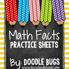 Math Facts Practice Sheets -  250+ Pages of Printables