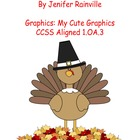 Math Facts + and -  Turkey Theme