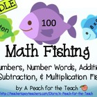 Math Fishing Bundle- Number Recognition, Addition, Subtrac