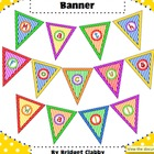 &quot;Math Focus Wall&quot; Banner or Bunting