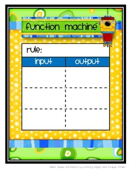 Math Function Machine