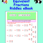 Math Galaxy Equivalent Fractions Riddles eBook
