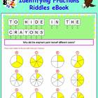 Math Galaxy Identifying Fractions Riddles eBook
