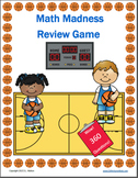 Math Game: 3rd Grade Math Review: Football Math Review