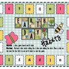 Math Game Board - Earth Day Habits