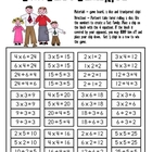 Math Game Board - More Fabulous Fact Families
