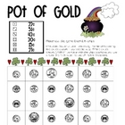Math Game Board - St.Patrick's Day Pot of Gold Money Math