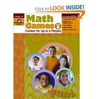Math Games: Centers for Up to 6 Players, Level B Grades 1 