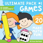 Math Centers / Games - Numbers to 20 Ultimate Pack 1 - Pri