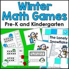 Math Games: Snowmen All Around!