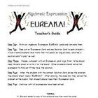 Math Games for Middle School 2 - Eureka! (Algebraic Expressions)