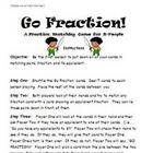 Math Games for Middle School 2 - Go Fraction!  (Equivalent