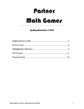 Math Games for Partners