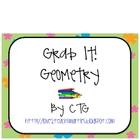 Math Geometry Grab It! Center