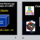 Math Geometry Vocabulary - Solid Figures PPT with Review Page