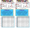 Math Helper (Student Reference Card)