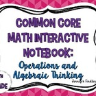 Math Interactive Flippables {Common Core: Operations and A