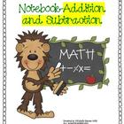 Math Interactive Notebook-Addition and Subtraction