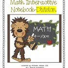 Math Interactive Notebook-Division Concepts