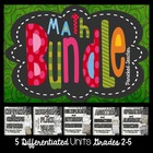 Math Interactive Notebook BUNDLE- Grades 2-5