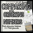 Math Interactive Notebook and Math Journal: Comparing and