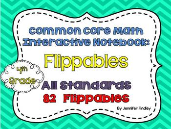 Math Interactive Student Notebook {4th Grade Common Core: All Standards}