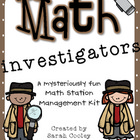 Math Investigators: A Math Station Management Kit