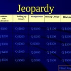 Math Jeopardy Variety of topics
