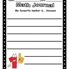 Math Journal - Favourite Number