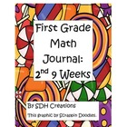 Math Journal First Grade- Second 9 Weeks (updated)
