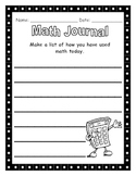 Math Journal - Math Today