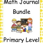 Math Journal Primary Bundle