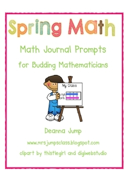 Math Journal Prompts Spring Edition