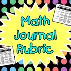 Math Journal Rubric