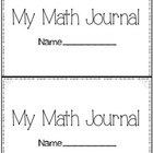 Math Journal: Word Problems, Patterns, Greater, Less, Posi