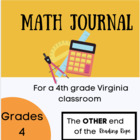 Math Journal for a Virginia 4th grade classroom