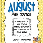 Math Journals {August}