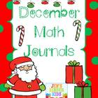 Math Journals For December