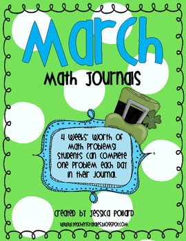 Math Journals {March}