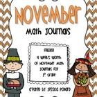 Math Journals {November}